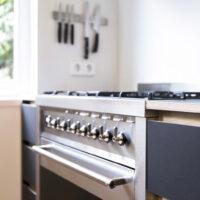 Keuken met SMEG fornuis - Amsterdam Zuid